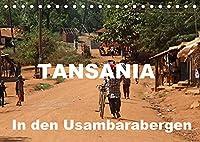 Tansania. In den Usambarabergen (Tischkalender 2022 DIN A5 quer): Tansania. Ein Besuch in den Usambarabergen fuehrt in eine sehr einfache Welt. (Monatskalender, 14 Seiten )