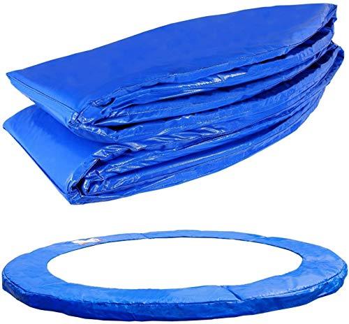 Abset Cubierta de muelles para cama elástica (cubierta de muelles) | Apto para marco redondo | Acolchado para cama elástica para máxima seguridad 2,44 metros