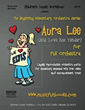 Aura Lee: Legally reproducible orchestra parts for elementary ensemble with free online mp3 accompaniment track