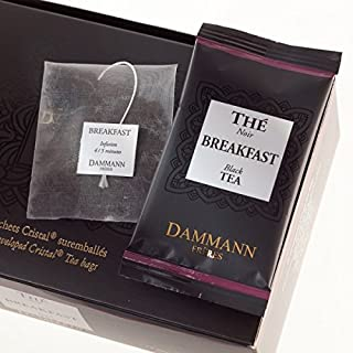 Dammann Freres Tee - Breakfast Schwarzer Tee - 24 Cristal Teabags