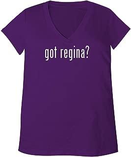 got Regina? - Adult Bella + Canvas B6035 Women's V-Neck T-Shirt