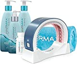 Bundled HairMax Treatment for Hair Growth includes LaserBand 41 (FDA Cleared) for Full Scalp Hair Loss with a combination of Density 3pc Bio-Active Hair Therapy System and Hair Dietary Supplements