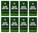 Café Molido Natural Santa Cristina 8x250g (Caja 8 paquetes)