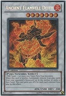 Yu-Gi-Oh! - Ancient Flamvell Deity (HA04-EN056) - Hidden Arsenal 4: Trishulas Triumph - Unlimited Edition - Secret Rare