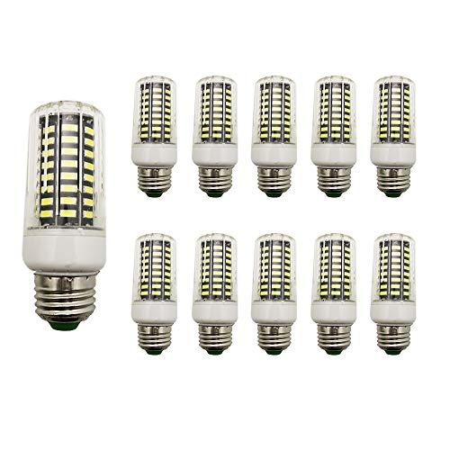 LED-lampen, E27, 7 W, 6000 K, krachtig, ideaal voor grote ruimtes, werkplaats, keuken, woonkamer, terras, wandlamp enz.