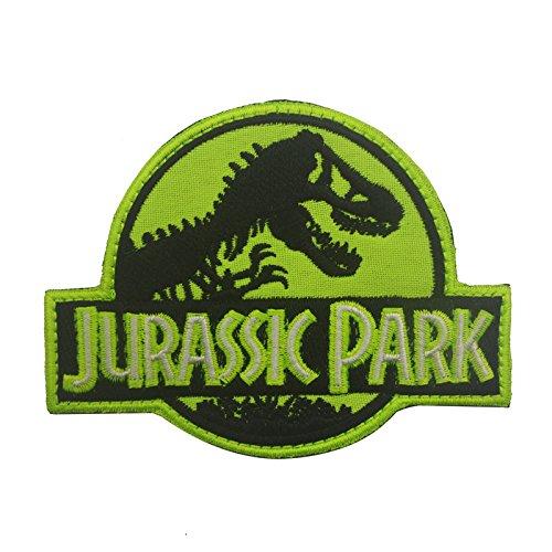 Parches para Ropa Jurassic Park Overton Dragon Pattern Barmes Brazos Magic Pegatina Mochila Disfraz (2PCS) Alrededor de 8 × 10 cm (Color : 3)