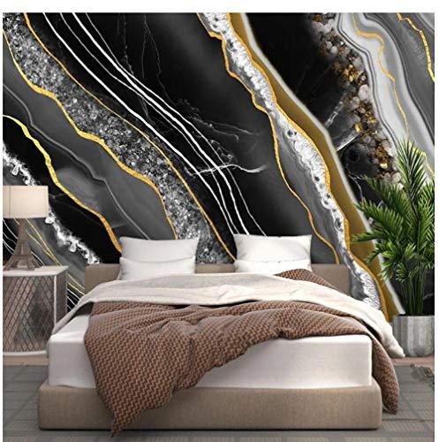 Mural - Mármol microcristalino de lujo-280x200cm (110X78 inch) - Papel Pintado Salón Dormitorio Despacho Pasillo Decoración murales decoración de paredes moderna