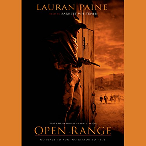 Open Range audiobook cover art