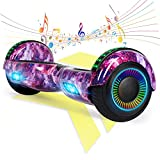 FLYING-ANT Hoverboard, Hoverboards for Kids with Bluetooth Speaker and Led Lights, 6.5inch Two Wheels Self Balancing Hoverboard