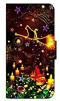 [iPhoneSE(第1世代)] スマホケース 手帳型 ケース デザイン手帳 アイフォンエスイー 8257-D. マジカルハロウィン かわいい おしゃれ かっこいい 人気 柄 ケータイケース ゴシック