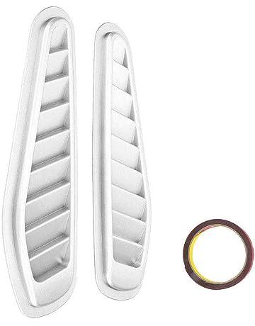 Color Name : Carbon 3pcs Set HYSJLS Auto Interni Accessori ABS in Fibra di Carbonio Chrome COPRIVOLANTE Paillettes Trim Sticker for Ford Focus 3 Mk3 Kuga Fuga 2012 2013 2014 2015 3Pcs