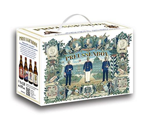 Preussenbox Bier im 8er Geschenkkarton (8 x 0.33 l)