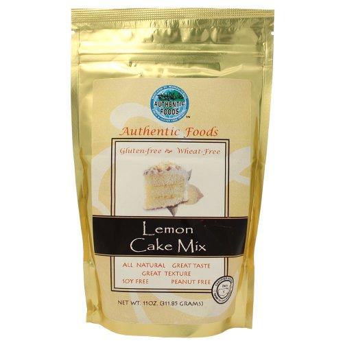 Authentic Foods Lemon Cake Mix