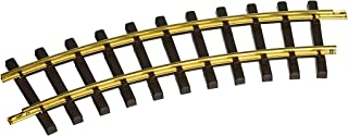 """Bachmann Industries Large """"G"""" Scale Universal Brass Track with 4' Diameter Curve (12 per Box)"""