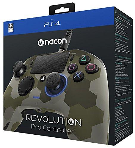 Nacon Revolution Pro Controller, Camouflage Verde - Classics - PlayStation 4 [Importación italiana]