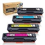 7Magic 410A Toners Compatibili per HP 410A CF410A 410X CF410X Cartucce Toner per HP Color LaserJet Pro MFP M477fdw M377dw M452dn M477fdn M477fnw M452nw M477dw M477 M452 Stampante (4 Pezzi)