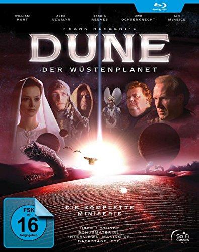 Dune: Der Wüstenplanet - Der komplette TV-Mehrteiler (Extended HD-Version + 180 Min. Extras) [2 Blu-ray] [Alemania] [Blu-ray]