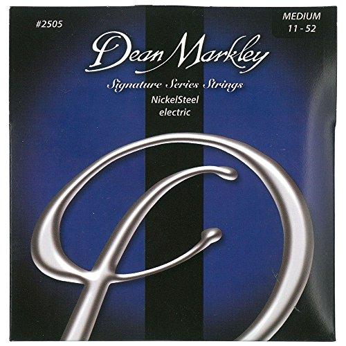 Dean Markley NickelSteel Electric MED 2505 - Juego de cuerdas para guitarra...