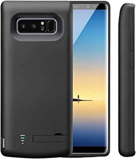 Idealforce Samsung Galaxy Note 8 Battery Case,6500mAh External Power Bank Cover Portable Charger Protective Charging Case for Samsung Galaxy Note 8 (Black)
