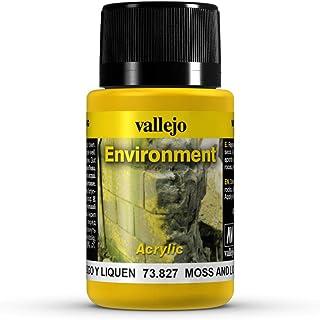 Vallejo Moss & Lichen Effect Model Paint Kit
