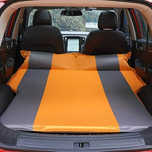 Inflatable Car Mattress,Ultralight Camping Mattress with Pillow,Portable and Folding Inflating Roll Compact Air Mat Waterproof Lightweight for Back Seat,Truck,SUV,Minivan,Travel1 (Color : 3) xuwuhz