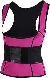 Baosity Womens Sauna Tank Top Suit Vest Body Shaper Waist Trainer Corset