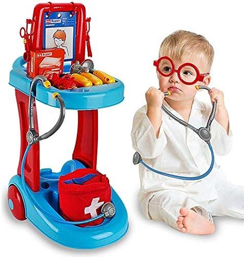 DIY Haus Little Doctor Kit Medizinische Trolly Krankenschwester Spielzeug Rollenspiel  te Spielzeug Set Spielzeug Cosplay mädchen Jungen Spielzeug Für Baby Kinder Frühes Alter Entwicklung P gogisc