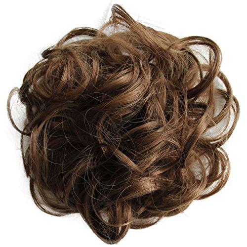 PRETTYSHOP Postizo Coletero Peinado alto, VOLUMINOSO, rizado