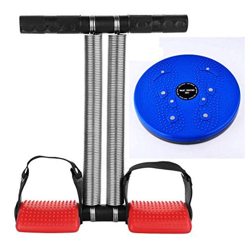 ODDISH; way to fitness DSTTR-TWB Steel Tummy Trimmer- Double Spring Combo Tummy Twister Abdominal Exercise for Men and Women