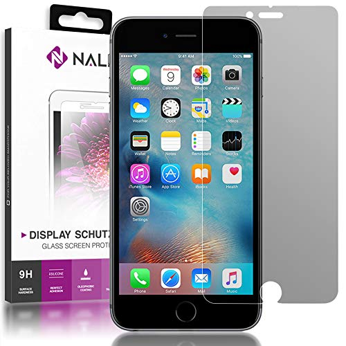 NALIA Privacy Glass Compatible con Apple iPhone 6 Plus / 6S Plus, Protector de Pantalla Completa Privacidad Anti-Espia 9H Cristal Templado Película Protectora Film LCD Screen-Protector Tempered Glass