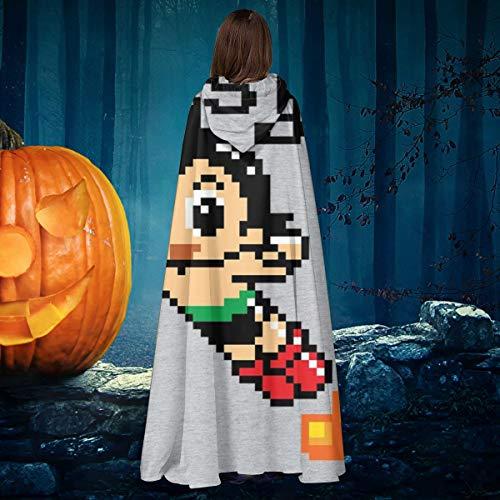 AISFGBJ Astroboy - Capa de Disfraz de Vampiro con Capucha, diseo de Halloween