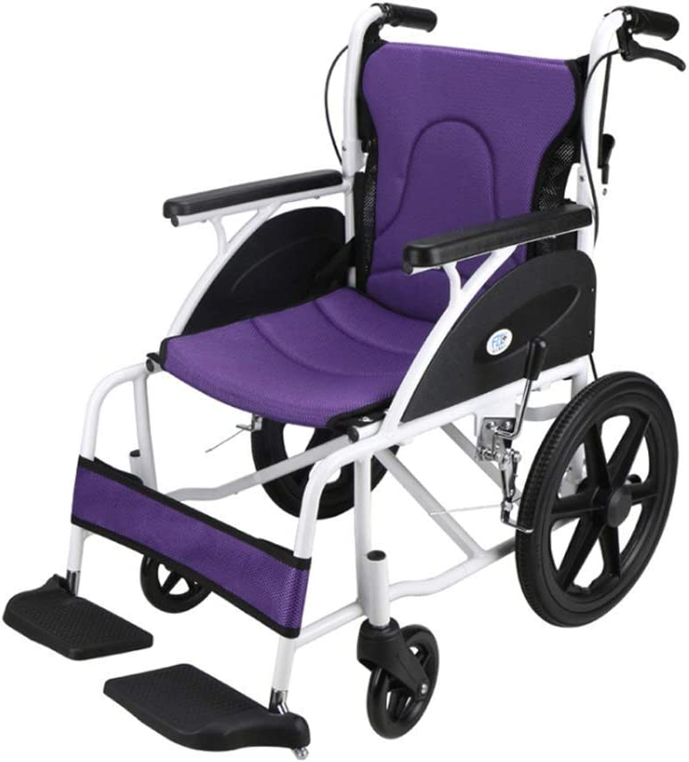 National products Gymqian Folding Backrest Wheelchair Max 84% OFF Self-Propelled Aluminum All