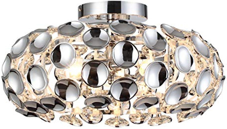 Nino 61080306 Ontario Deckenleuchte Deckenlampe Lampe chrom 45 cm 3-flammig für E14
