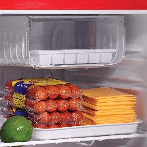 コカコーラ ワンドア ペルチェ方式 1ドア右開き冷蔵庫 48L