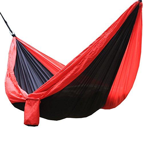 Ppy778 Fallschirm Tuch Hängematte, Outdoor Camping Schaukel, doppelt verlängert und verbreitert, 300 * 200cm (Color : #3)