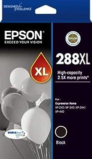EPSON 288XL Black DURABrite Ink, XP-240, XP-340, XP-344, XP-440
