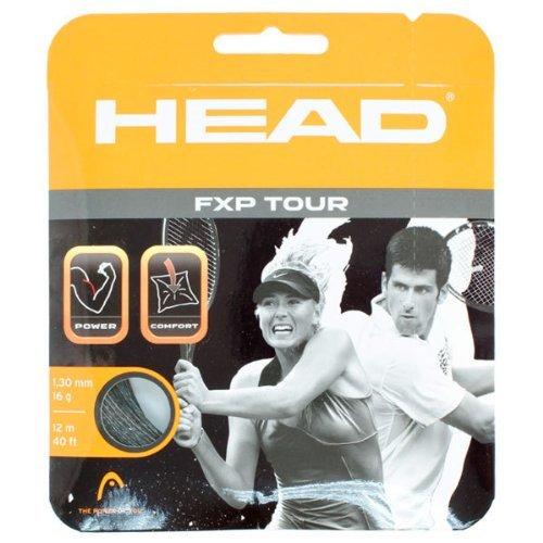 Head FXP Tour 16 Tennis String Black by HEAD