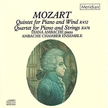 Mozart: Quintet for Piano and Wind - Quartet for Piano and Strings