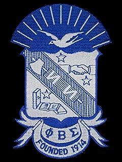 Phi Beta Sigma Shield Cotton 3'' Emblem Patch