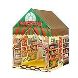 MOKY Bebé casa del Juego, Juguete Plegable del cajero del supermercado Tela Playtent para niños Tienda de Bola para la Educación Pozos Abarrotes bebé