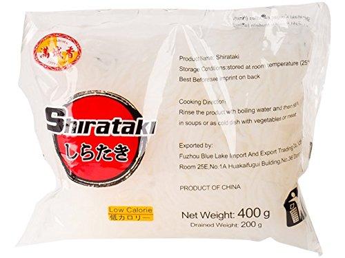 City Aroma - Shirataki schmal - Konjak Spaghetti - 20er Pack (20 x 400g/ATG 200g) - 1 Karton