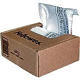 Fellowes 36052 - Pack de 100 bolsas de residuos para destructoras, capacidad 28 litros