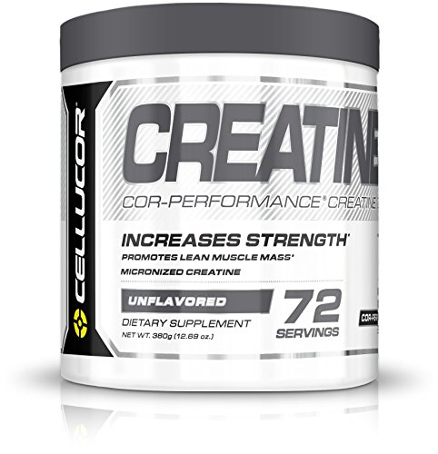 Cellucor Cor-Performance Creatine Monohydrate for Strength and Muscle Growth, 72 Servings
