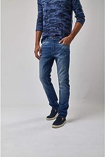 Calça Jeans Puidos - Jeans Claro