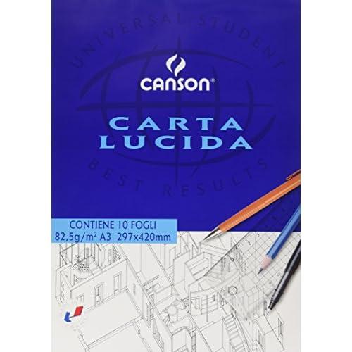 Canson 531048 Blocco Disegno a Carta Lucida