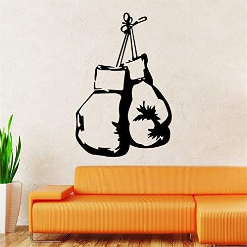 Kreative persönlichkeit boxhandschuhe wandaufkleber hintergrund schlafzimmer wohnzimmer dekoration aufkleber Wandaufkleber58 X 87 CM