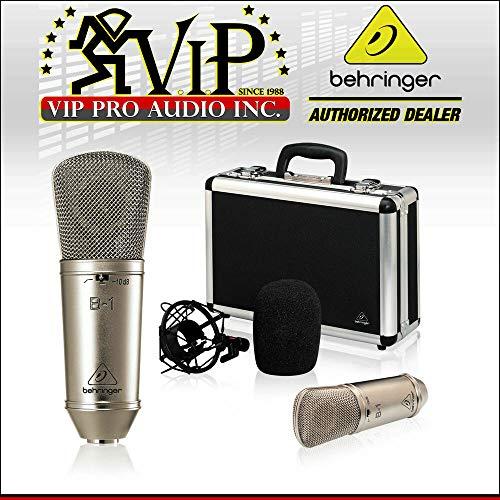 Behringer B-1 Large-Diaphragm Studio Condenser Mic w/Case,Shockmount,Windscreen - VK56606