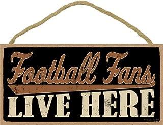 SJT ENTERPRISES, INC. Football Fans Live here 5