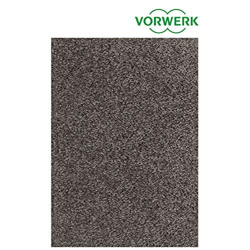 Vorwerk vlakpolig tapijt eenkleurig in antraciet woonkamer Muster bestellen grijs