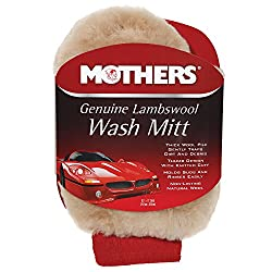 Wool wash mitt to get things squeaky clean on your 7th anniversary